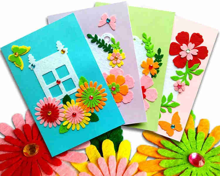 use bright colors to become a pro at crafting