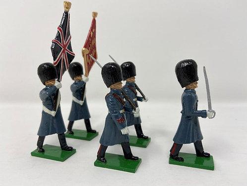 Set 9 - Scots Guards (Great Coats) Colour Party