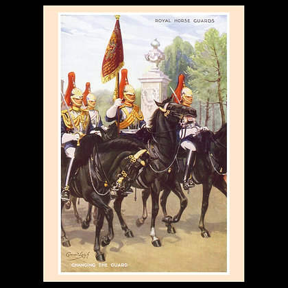 Royal Horse Guards Greeting Cards
