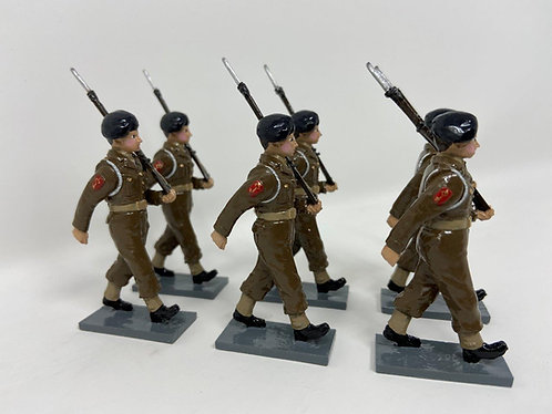 Set 201 - GDF Regiment at March (Circa 1950)