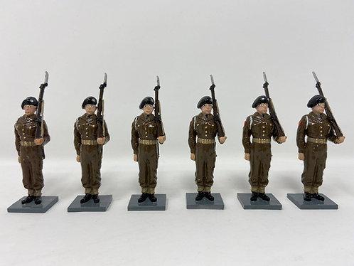 Set 206 - GDF Regiment at Attention (Circa 1950)