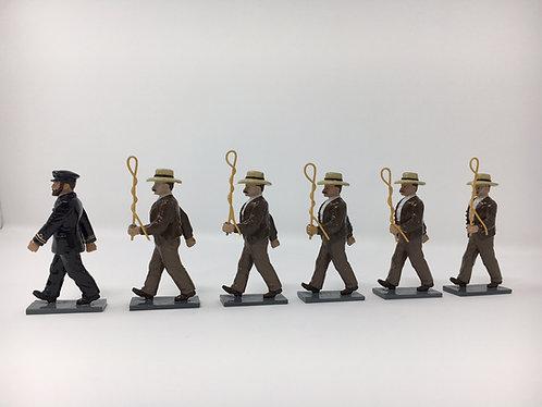 Set 209 - Los Carreteros Officer & Men