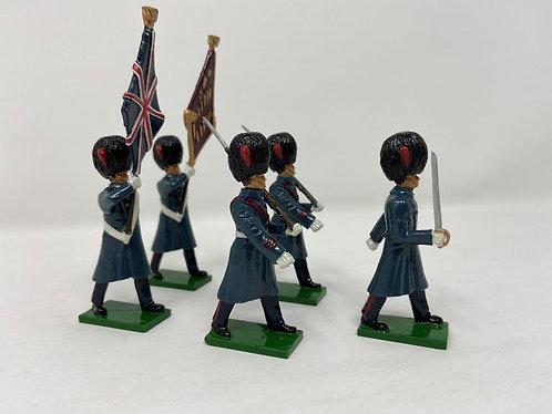 Set 10 - Coldstream Guards (Great Coats) Colour Party