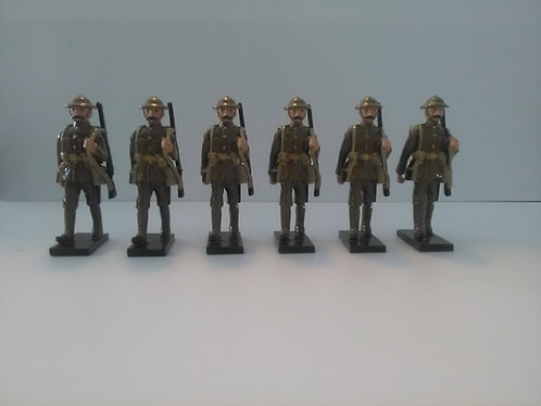 Special Offer - WWI British soldiers marching, rifles slung over shoulder
