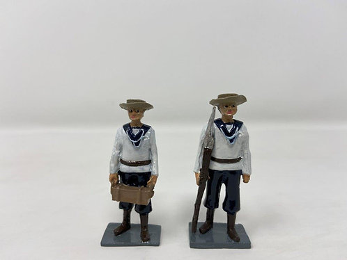 Late 1800's Naval Figures (2)