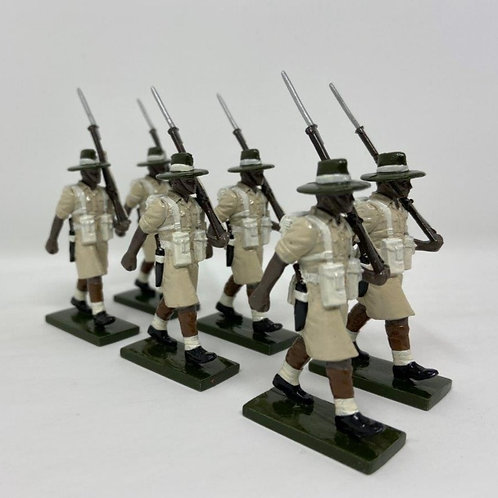 Set 130 - Gurkha Rifles at March