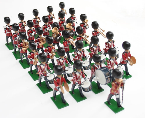 Set 100, Scots Guards Band, marching, 31 piece.