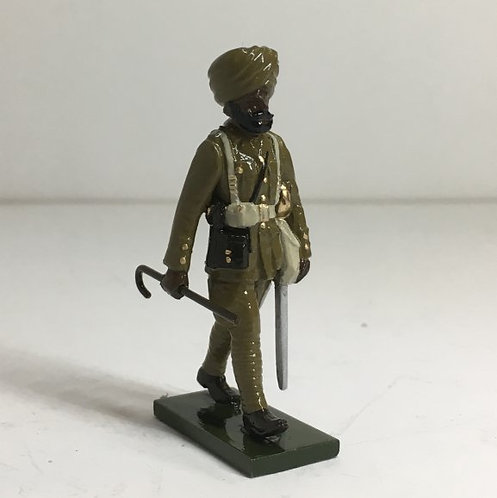 OTF9, WWI Sikh Officer, marching. ​