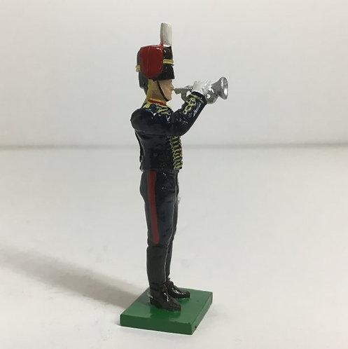 Fig 173 - Kings Troop RHA Bugler standing.