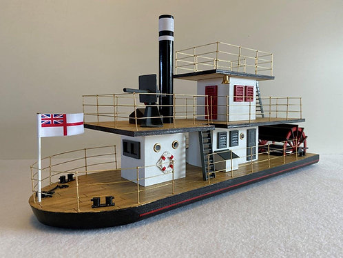 BY02 - Paddle Steamer
