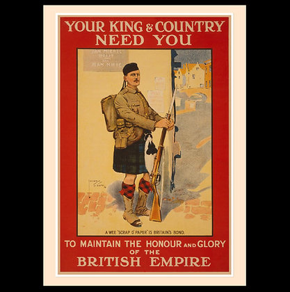 Posters of The Great War - British Recruiting Posters Set 1