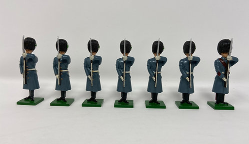 Set 26 - Welsh Guards in greatcoats at present