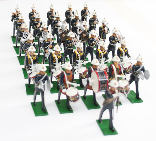 Set 109, Royal Marines Band, marching, 31 piece.