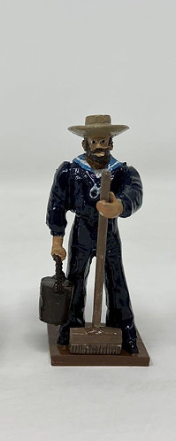 Fig 237c - Sailor with Broom