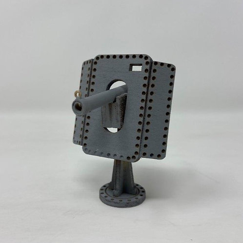 BYA36 - Deck Gun w/ Shielding Panels