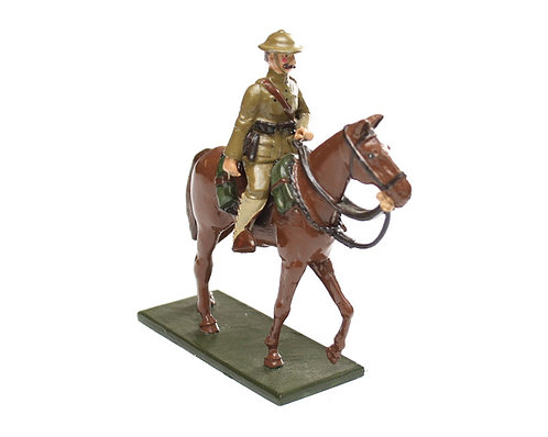 Fig 60 - WWI Mounted US Officer.  ​