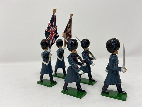 Set 11 - Irish Guards (Great Coats) Colour Party