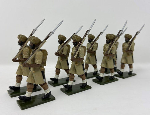 Set 132 - Sikh Troops, Desert Campaign, At March