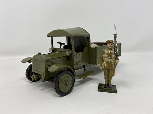 Set 234 - WWI Thorneycroft Lorry & Soldier on Guard