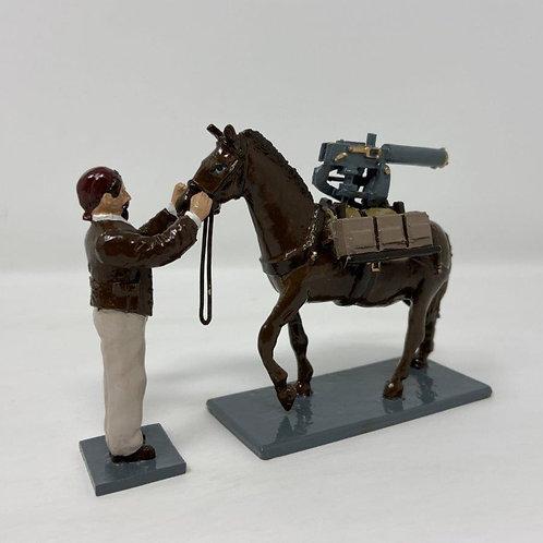 Set 224 - Gibraltar Series, Mule bearing machine gun
