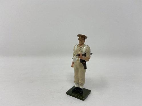 Fig 123 - Scots Guards Officer, Peak Cap