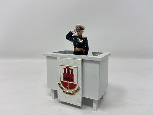 Set 228 - The Governor of Gibraltar, Taking the Salute