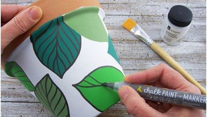 Pot Painting Basics: It's a Trend Once Again