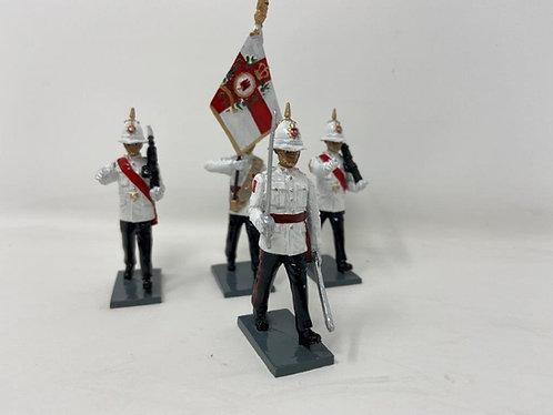 Set 249 - Royal Gibraltar Regt. Colour Party in Ceremonial Dress