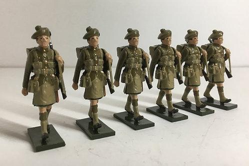 OTF 11, WW1 Highland Troops