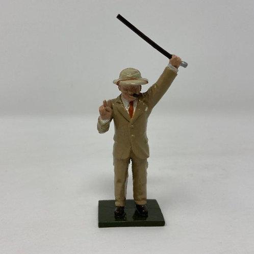Fig 142 - Winston Churchill, desert campaign
