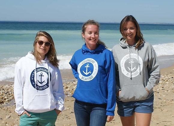 Sweat-shirt capuche Compagnie Atlantique