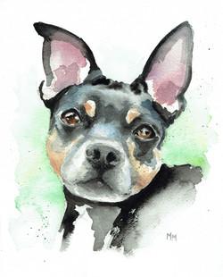 Leah/Watercolor
