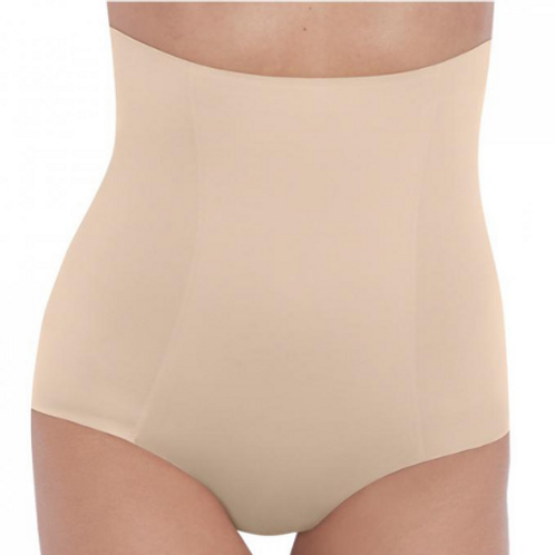 Culotte haute galbante Nude Beyond Naked Cotton Shapewear S à XL | Wacoal