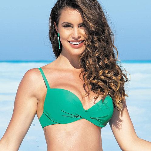 Haut de maillot de bain Coques La Chiquissima Mer jade | Antigel