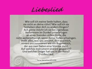 Rilke - Liebeslied