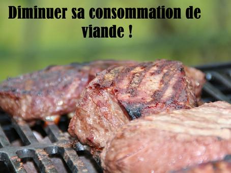 Comment diminuer sa consommation de viande ?