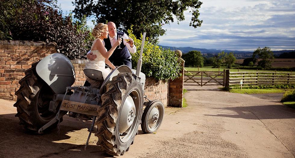 Farm Wedding Shropshire