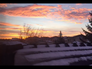 Quick timelapse of today's sunrise