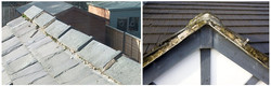 Loose roof sections