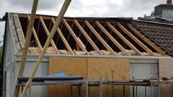 Sagging roof, porous tiles & felt