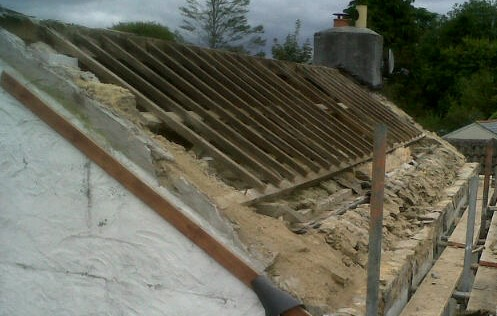 1850's cottage roof refurb