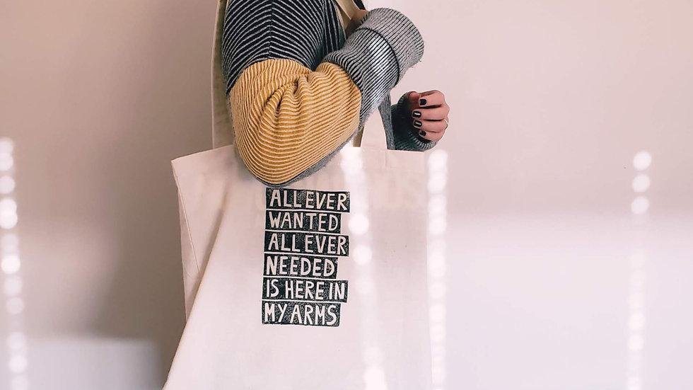 Tote Bag | Lino Print