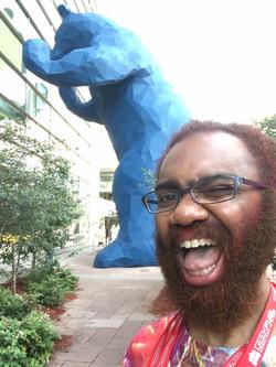 Big Blue Bear & I