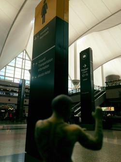 Phoenix at airport