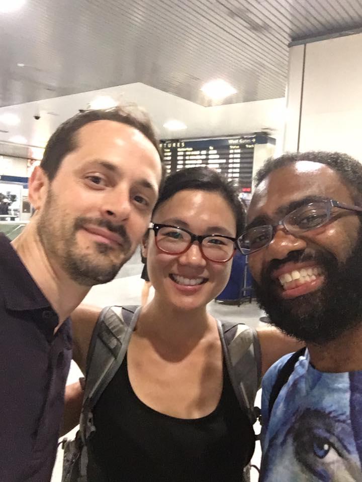 Jared Cole, Janice Kwon & I