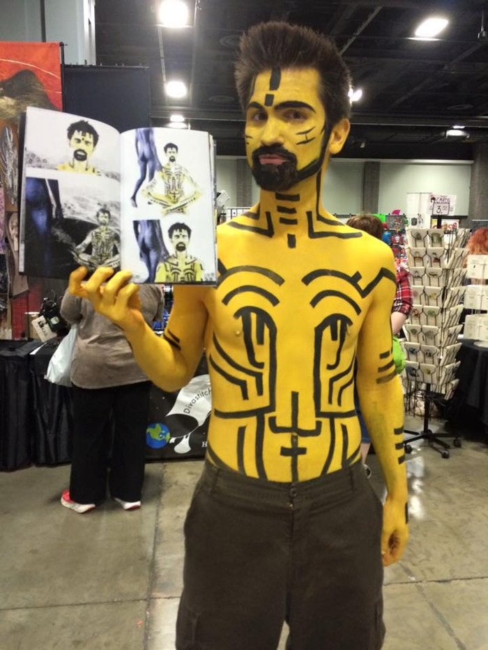 Sha at Awesome Con