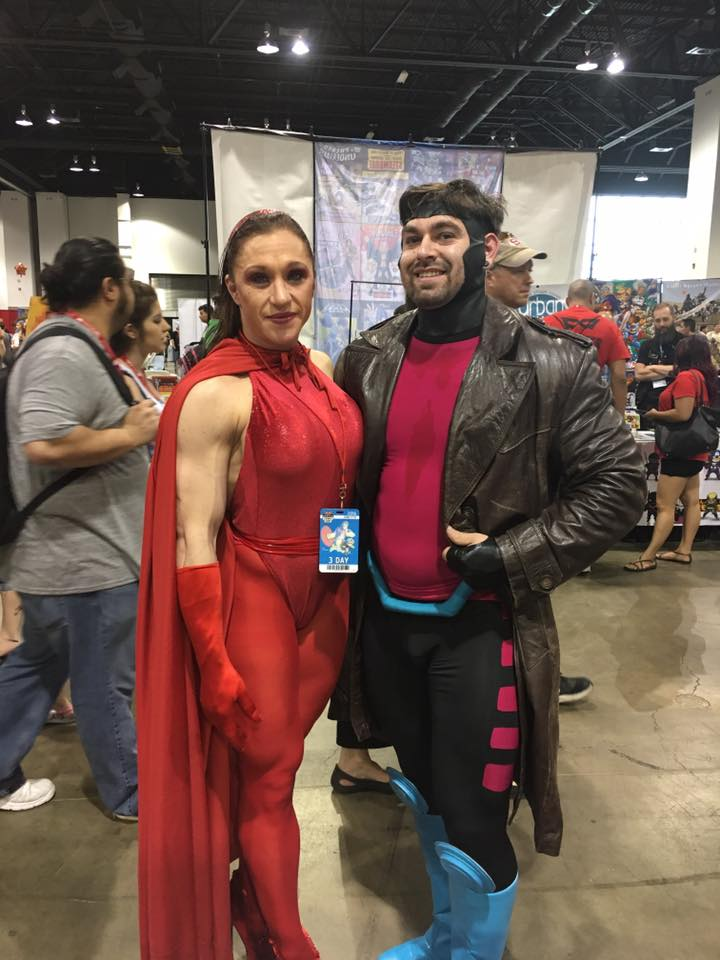 Scarlet Witch & Gambit