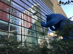 Big Blue Bear at Colorado Convention