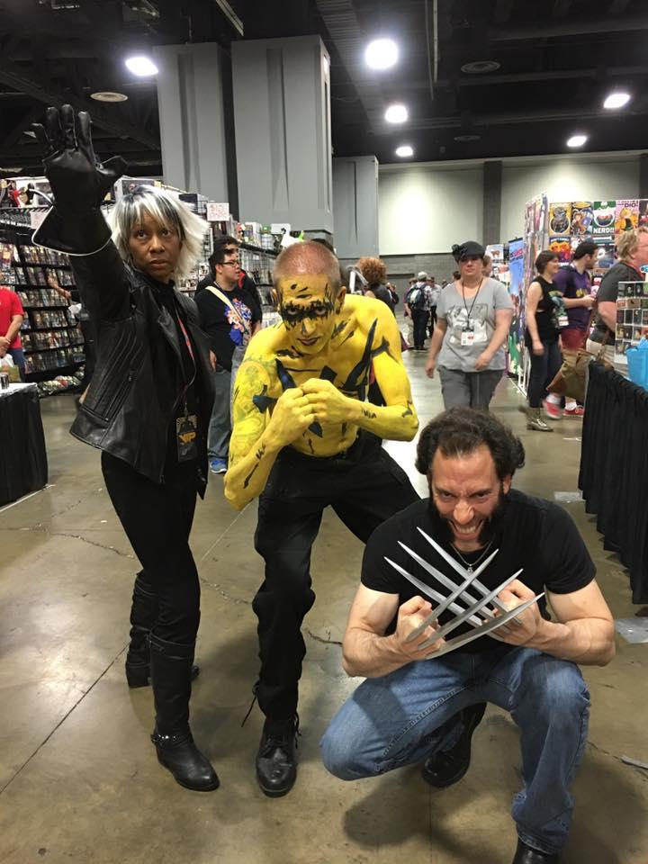 Storm, Leo & Wolverine