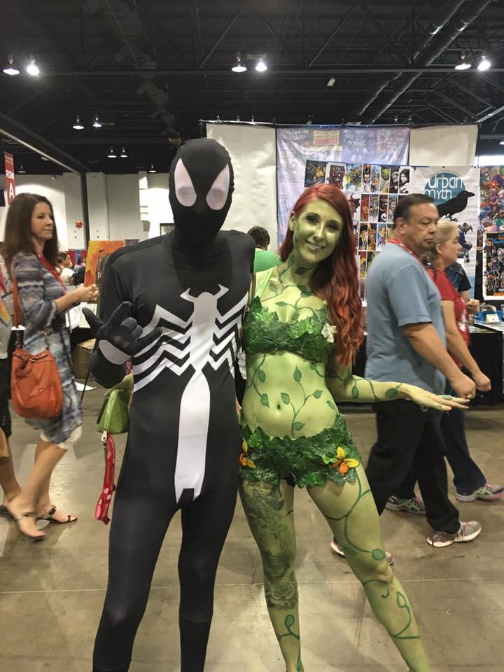 Spiderman & Poison Ivy